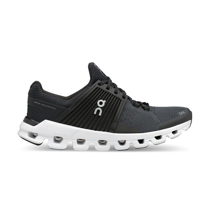 Men's On Cloudswift Running Shoes - Black/Rock