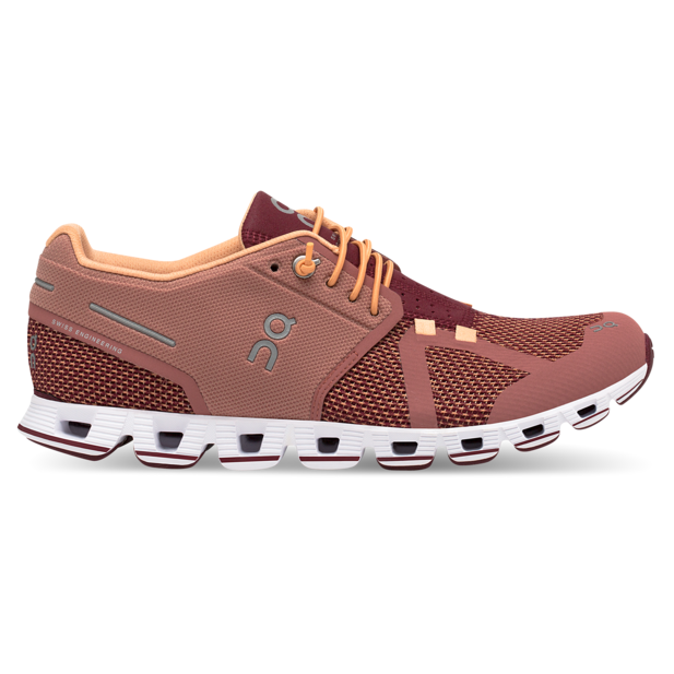 Women's On Cloud Running Shoes - Dustrose/Mulberry