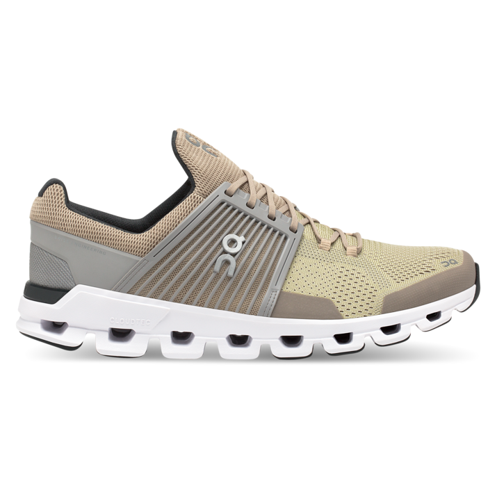 Men's On Cloudswift Running Shoes - Sand/Grey