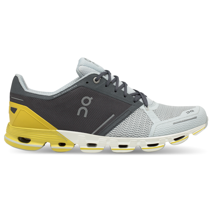 Men's On Cloudflyer Running Shoes - Grey/Lime