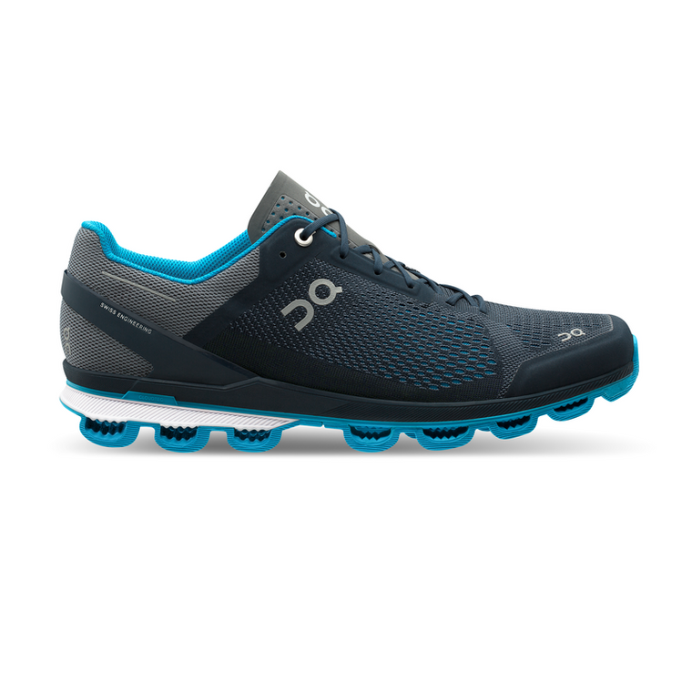 Men's On Cloudsurfer Running Shoes - Midnight/Malibu