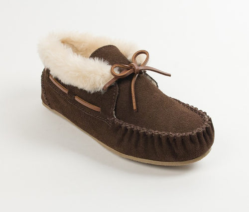 Women's Chrissy Classic Bootie Slippers - Chocolate