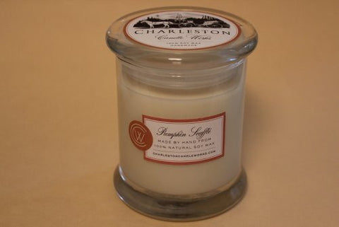Pumpkin souffle soy candle.