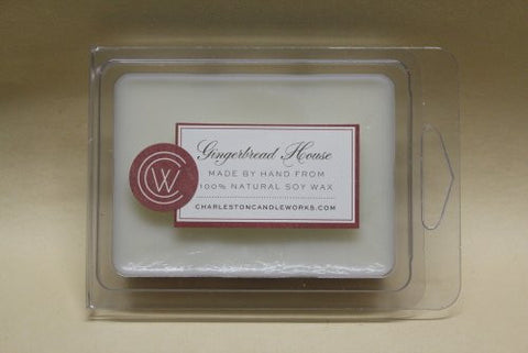 Wax melts smell like a gingerbread house.