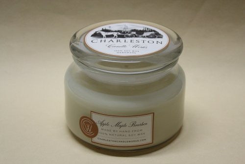 8oz apple maple bourbon soy candle.