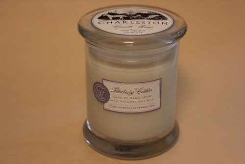 12oz Blueberry cobbler soy candle.