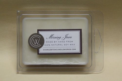 Morning Java wax melt will fill your house with the smell of coffee in the morning.