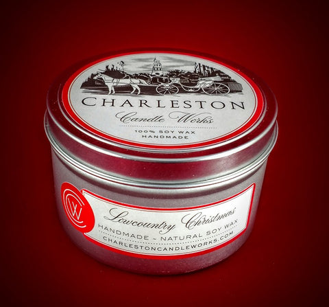 Lowcountry Christmas Tin