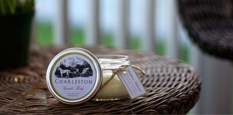 Charleston soy candle.