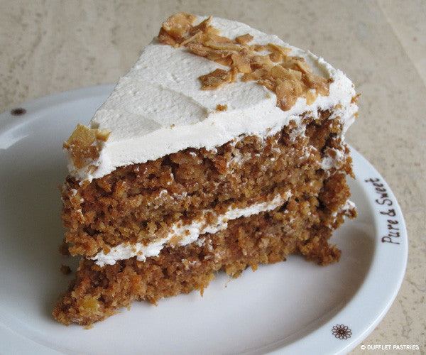 Carrot Cake (Wheat/dairy/nut free)