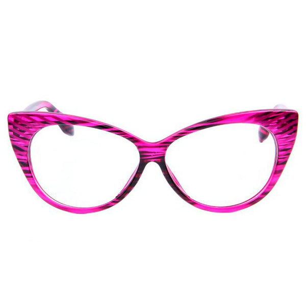 Clear Glasses - Candy - Pink