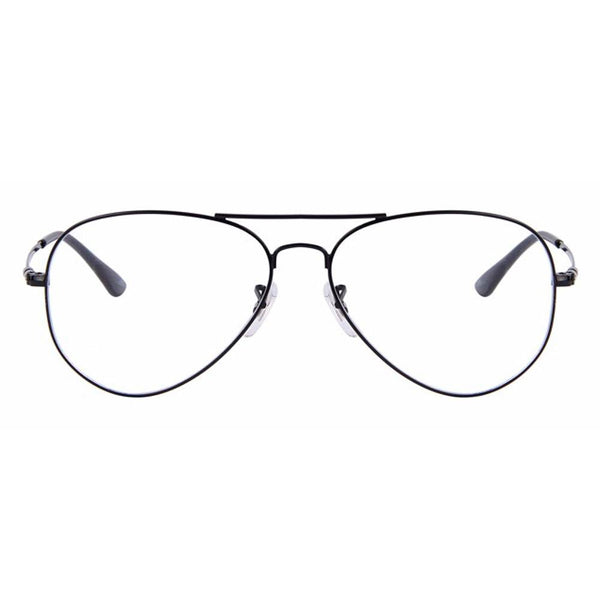 Clear Glasses - Clear Pilot - Black