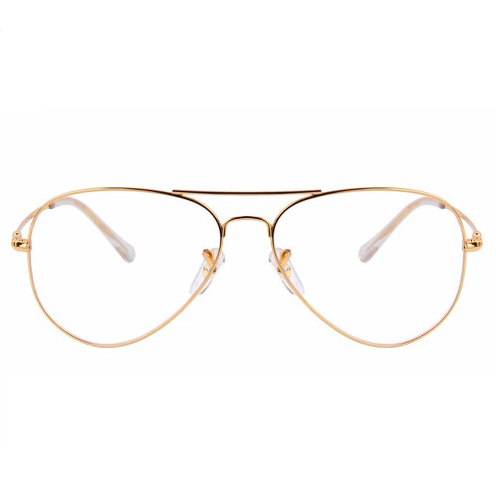 Clear Glasses - Clear Pilot - Gold