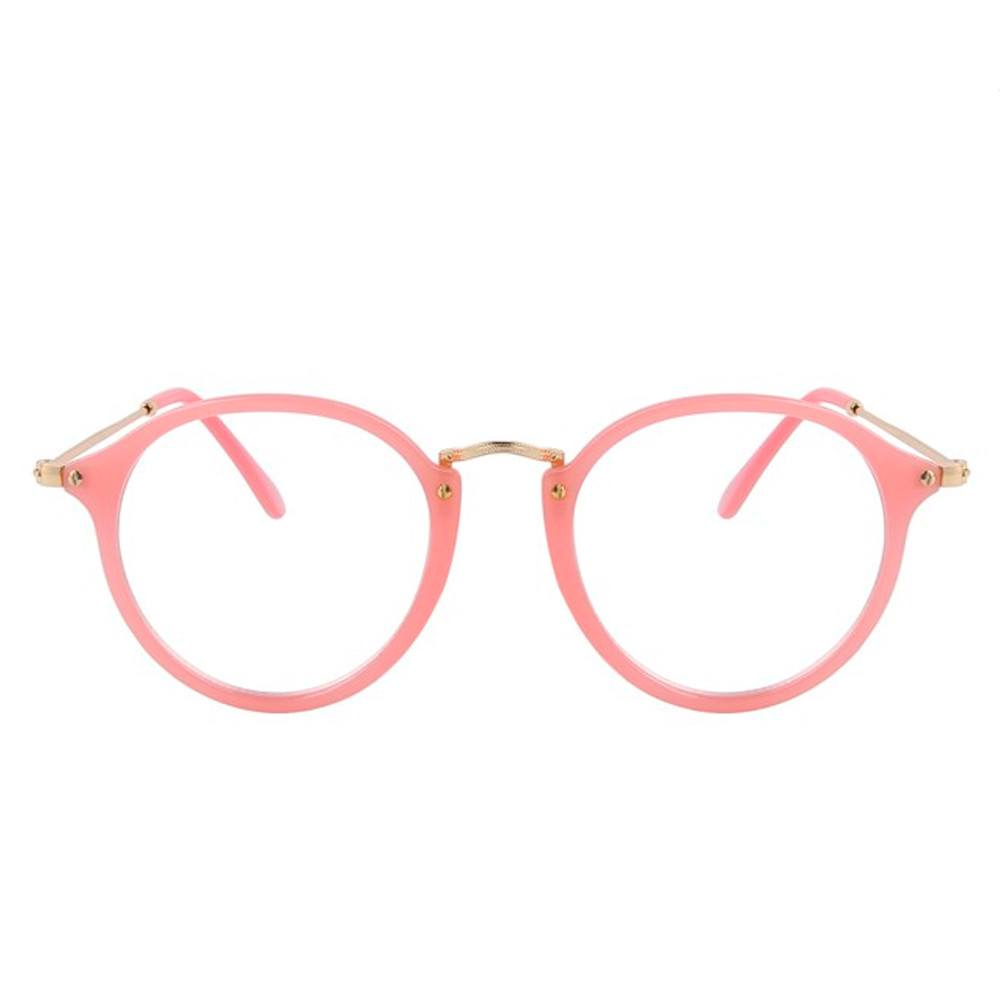 Clear Glasses - Vos - Pink