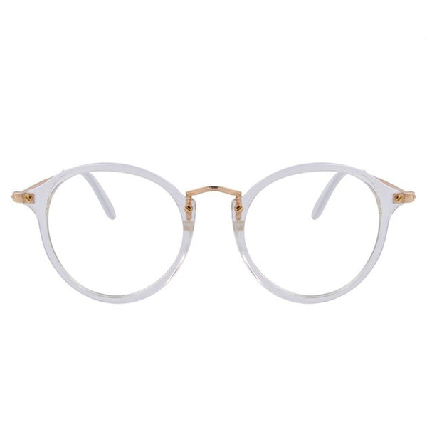 Clear Glasses - Vos - White