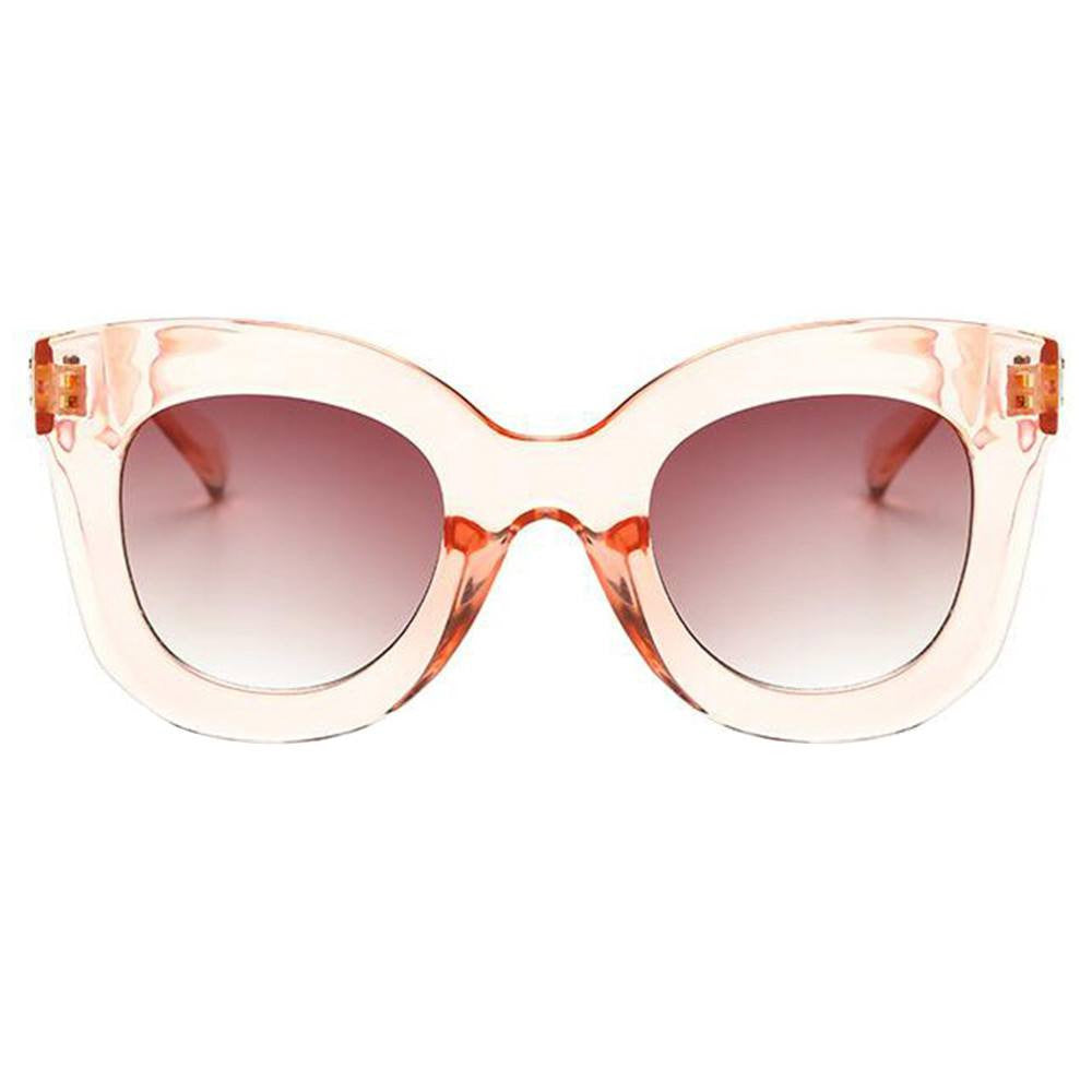 Sunglasses - Brick Pink Crystal