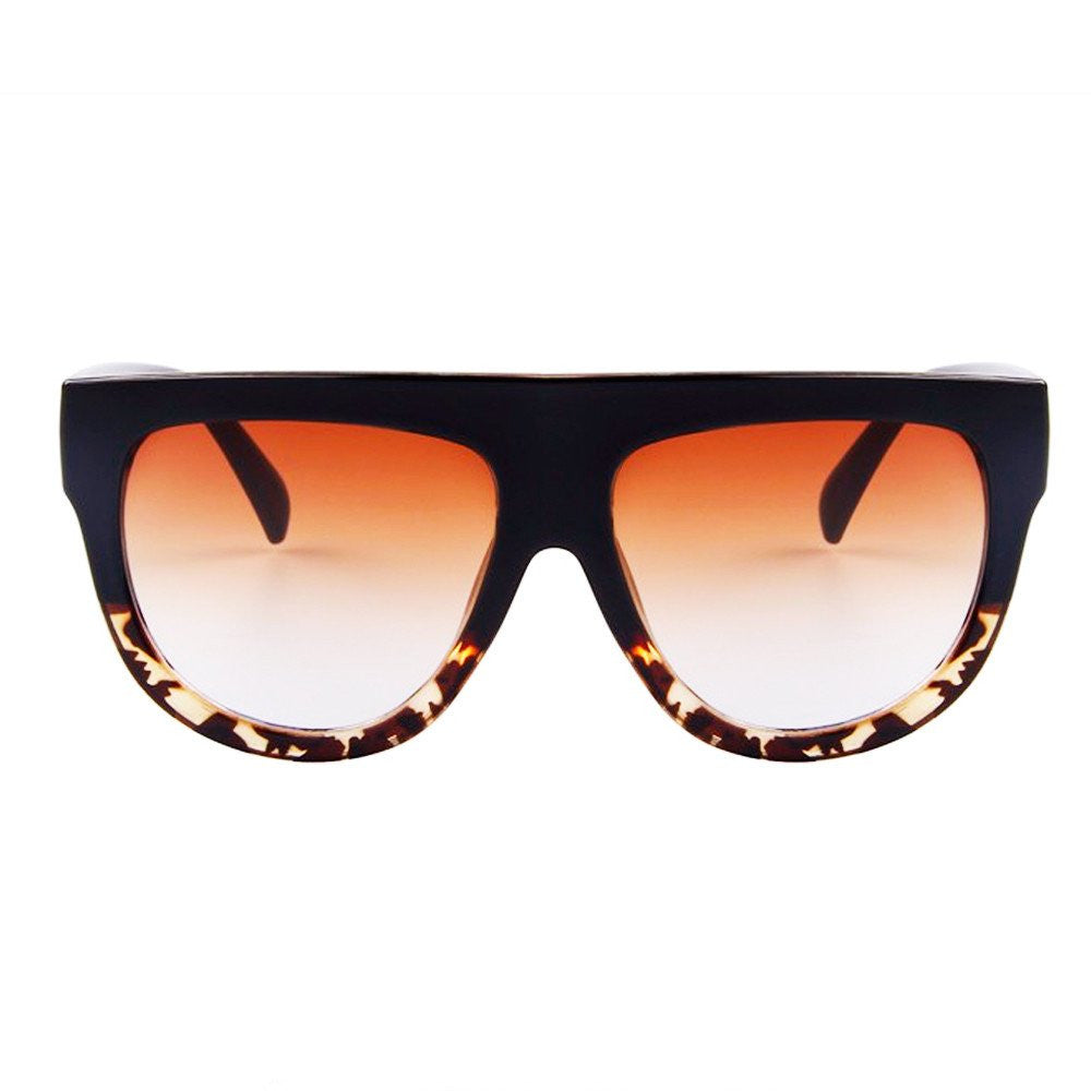 Sunglasses - Choco Latte - Black & Leopard