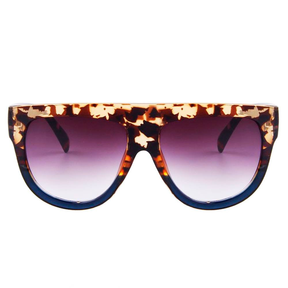 Sunglasses - Choco Latte - Full Leopard
