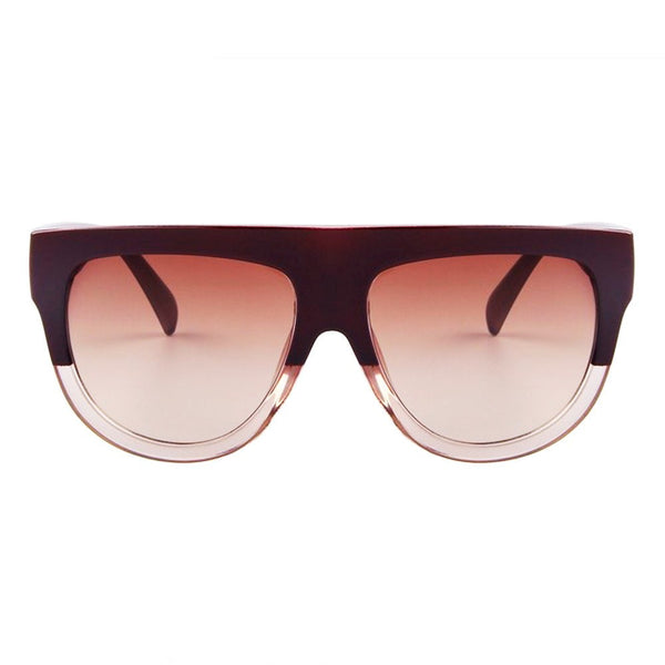 Sunglasses - Choco Latte - Wine Red & Brown