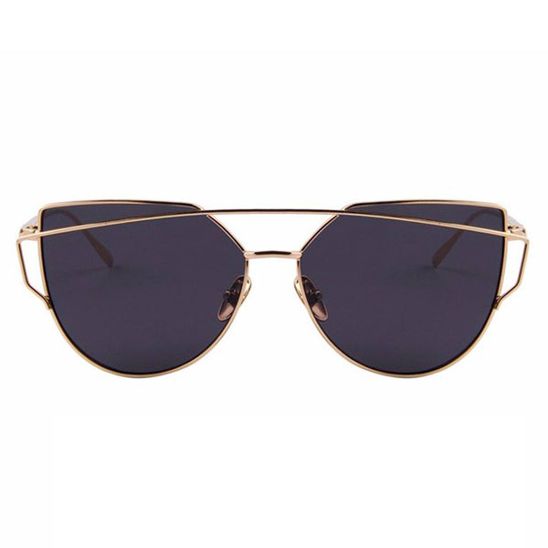 Sunglasses - Shine - Gold & Black