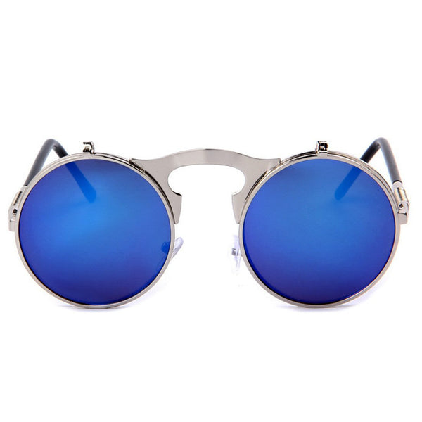 Sunglasses - Steam - Silver & Blue