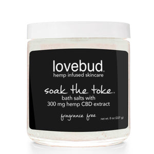 Soak the Toke: CBD Bath Salts