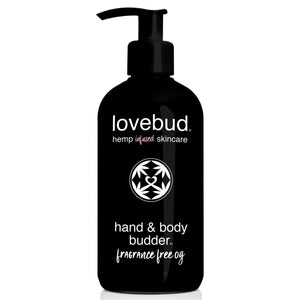 LOVEBUD Hand & Body Budder, Fragrance Free OG