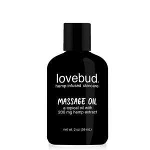LOVEBUD - Hemp CBD Extract Massage Oil 2 oz
