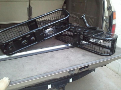 3rd row seat racks - Inside cargo racks for 80 series