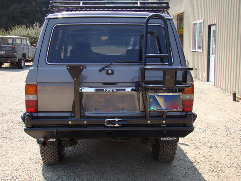 60 Series Landcruiser Rear Bumper