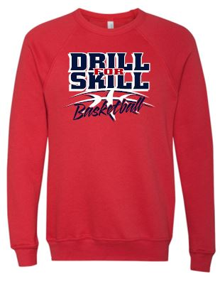 DFS RED CREWNECK SWEATSHIRT