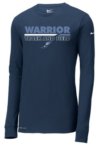 CV Track & Field NIKE Long Sleeve T-shirt