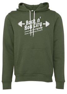RNR CITY MILITARY GREEN HOODIE