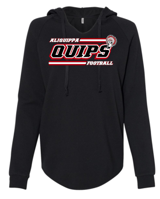 QUIPS FOOTBALL LADIES HOODIE