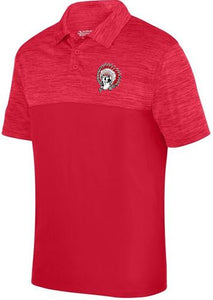 ALIQUIPPA QUIPS INDIAN RED POLO SHIRT