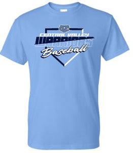 CV BASEBALL CAROLINA SHORT SLEEVE TSHIRT