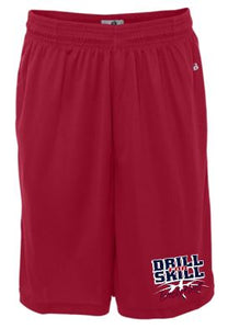 DFS RED POCKET SHORTS