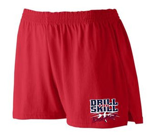 DFS LADIES RED SHORTS