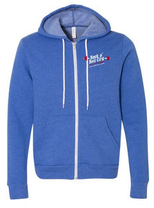 RNR CITY FULL ZIP ROYAL HOODIE