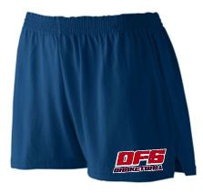 DFS LADIES NAVY SHORTS