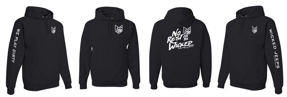 WICKED JEEP NO REST HOODIE