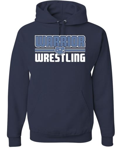 WARRIOR WRESTLING MOISTURE WICKING HOODIE