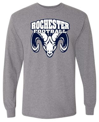 ROCHESTER FOOTBALL LONG SLEEVE TSHIRT