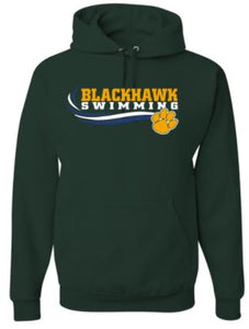 CARLYNTON SWIMMING LONG SLEEVE GILDAN TSHIRT