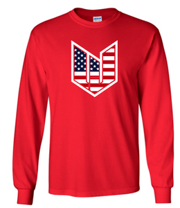 WICKED JEEP STARS & BARS LONG SLEEVE TSHIRT