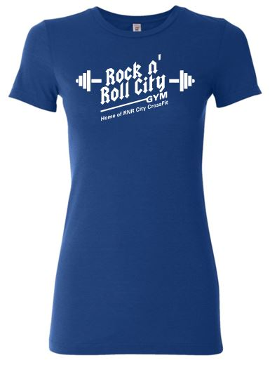 RNR CITY LADIES ROYAL TSHIRT