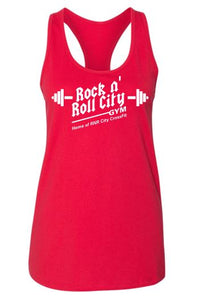 RNR CITY RED TANK TOP