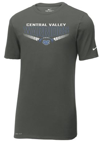 CV WARRIORS FOOTBALL NIKE TSHIRT