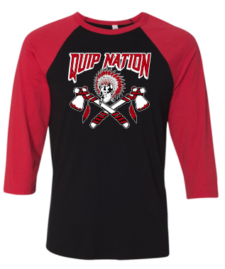 QUIP NATION RAGLAN SLEEVE TSHIRT