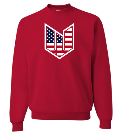 WICKED JEEP STARS & BARS CREW NECK SWEATSHIRT